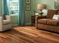 Hot Springs Hickory Laminate from the Nirvana line by Dream Home, designed to be a floating floor.