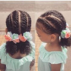 Ideas Baby Girl Hairstyles Afro For 2019 Natural Hairstyles For Kids, Kids Braided Hairstyles, Black Girls Hairstyles, Trendy Hairstyles, Toddler Hairstyles, Teenage Hairstyles, Ponytail Hairstyles, Short Haircuts, Girl Haircuts