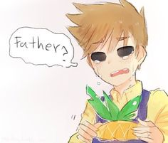 MY BABY NO<<< I knew it. There had to be ONE piece of fanart of Tom and his (deceased) father :'(