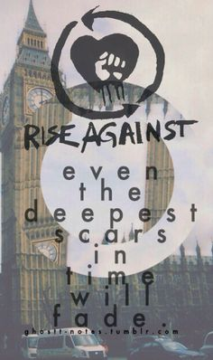 Rise Against. The Black Market. Tragedy + Time. <3