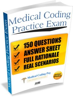 Full 150 question medical coding practice exam with rationale. These are really useful since there is a lot of terms and things to remember Medical Coding Classes, Medical Coding Course, Medical Coding Certification, Medical Coder, Medical Billing And Coding, Medical Terminology, Cpc Certification, Medical Careers, Medical Humor