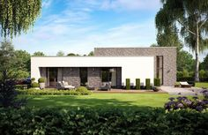 Moderne Bungalows pin by p on home designs bungalow haus and