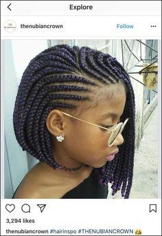 Black Girls Braids Hairstyles Pictures