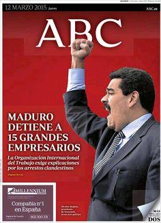 Diario ABC de 12 Marzo 2015 y Recordar que pueden visualizar en vídeos las noticias cada día en http://www.youtube.com/vendopor