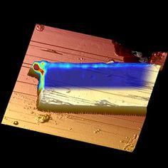 Físicos descobrem vibrações inesperadas em nanomaterial