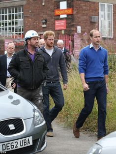 dailymail: The Duke of Cambridge and brother Prince Harry, September 23, 2015