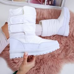 Cizme Tatum albe de zapada Boots, Winter, Casual, Fashion, Crotch Boots, Moda, Heeled Boots, Shoe Boot, Fasion