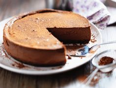 Just when you thought Banoffee Pie couldn't get better. Chocolate Cheesecake Recipes, Pumpkin Cheesecake, Fudge Recipes, Lime Recipes, Pasta Recipes, Baking Recipes, Dessert Recipes, Delicious Chocolate, Decadent Chocolate