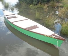 There have been a few canoe like objects put up on instructables but this one is really a pirogue- or flat bottom canoe. There is actually a lot of theory on boat...