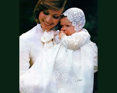 Filet Crochet Christening Gown Pattern Baptism Bonnet Crochet