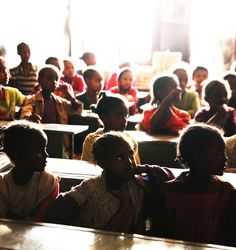 Ethiopia.  Amazing faces of children