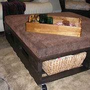 How to Make a Coffee Table From a Shipping Pallet | eHow- This article talks about how to choose one with right wood, how to clean it up, then how to use.