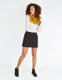 Ella Denim Mini Skirt