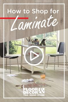 Laminate is durable, easy-to-maintain and affordable. Watch our Laminate Buying Guide to learn which type of laminate is right for you. Play Tennis, Floor Decor, Home Remodeling, Floors, Projects To Try, Advertising, Style Inspiration, Type, Watch