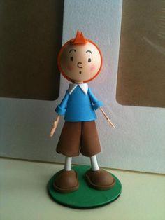 Tintin Foam Rubber Figure by anapeig.deviantart.com on @deviantART