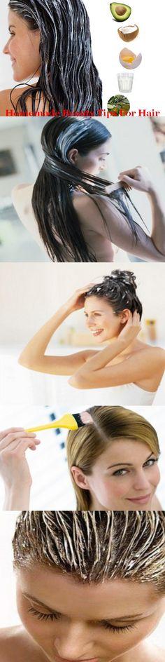 Homemade beauty tips for hair