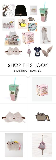 """Pusheen #1"" by liv27cheer ❤ liked on Polyvore featuring interior, interiors, interior design, home, home decor, interior decorating, Pusheen and Gund"