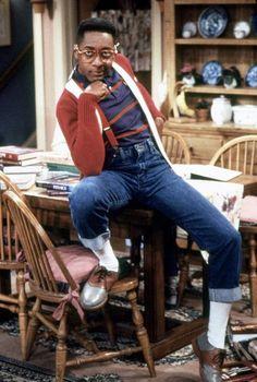 Steve Urkel, 'Family Matters' - The Worst Dressed TV Characters of All Time - Photos 90s Tv Shows, Old Shows, Tv Character Costumes, Jaleel White, Bae, Black Tv, Comedy Tv, Family Matters, Old Tv