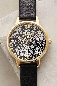 Ditzy Floral Watch - anthropologie.com