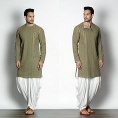 Pastel Green #self_textured #bangali_kurta #dhoti_pants #traditional #classy #elegance #bucram_puneetandnidhi Mens Indian Wear, Mens Ethnic Wear, Indian Groom Wear, Indian Men Fashion, Mens Fashion Wear, Men's Fashion, Pathani Kurta Men, Pathani For Men, Latest Kurta Designs