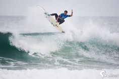 Banging shot from the RiP Curl Pro Portugal. Surf