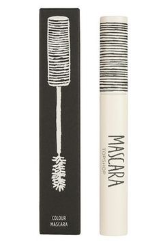 Coloured Mascara in Blast-Packaging
