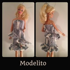 Vestido Barbie #croche
