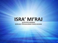 Ekspresi Tangan Syahadat dalam Peristiwa Isra Mi'raj Nabi Muhammad SAW