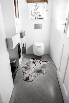 Wohnideen Toilette fugenloser boden in marmormörtel http malerische wohnideen de