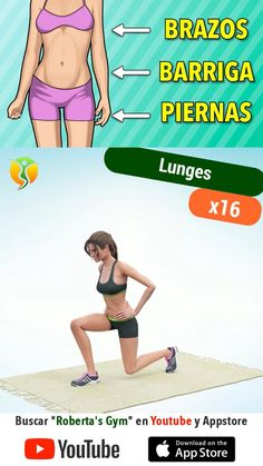 Workout Without Gym, Full Body Gym Workout, Gym Workout Videos, Gym Workout For Beginners, Fitness Workout For Women, Body Fitness, Band Workout, Weight Loss Workout Plan, Workout Challenge
