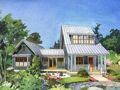 Small House Plan Good Choice For The Vacation Home Three
