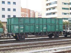 Unos vagones que se utilizaron mucho en el ferrocarril español, en los trenes de mercancías de Renfe.