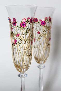 Wedding ceremony Wedding glasses Toasting Flutes Wedding