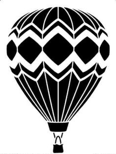 Hot Air Balloon clipart silhouette - pin to your gallery. Explore what was found for the hot air balloon clipart silhouette Stencils, Stencil Art, Hot Air Balloon Clipart, Balloon Balloon, Doodle Drawing, Kirigami, Paper Art, Paper Crafts, Wood Burning Patterns