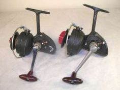 DAM QUICK 220 and 221 HIGH SPEED SPINNING REEL LOT W.Germany
