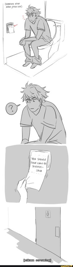 #Haikyuu comic Oikawa - I can't stop laughing! This is awesome! x'D