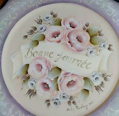 One Stroke, Tole Painting, Painting Patterns, My Drawings, Angles, Folk Art, Beautiful Flowers, Paintings, Signs