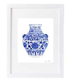 ginger jar print – Design Darling
