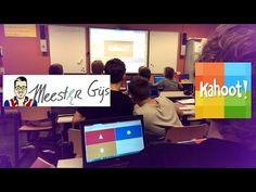 Digitaal onderwijs met Meester Gijs: Kahoot - YouTube  Kahoot being used in a Dutch classroom.