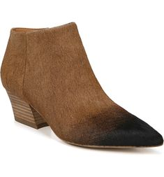 53b5d311c0 Free shipping and returns on SARTO by Franco Sarto Lowe Bootie (Women) at  Nordstrom.com. A low heel and pointy toe make this bootie a must-have  modern ...