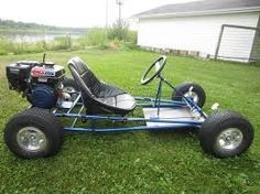Image result for homemade go karts