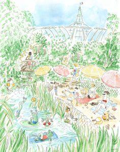 Les quatre saisons du Grand Palais : l'été ! © Aurélie Castex de Mesdemoiselles