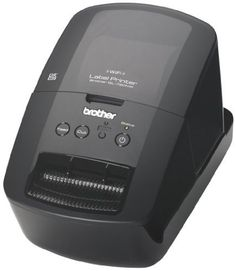 Brother QL-720NW Professional, High-speed Label Printer with Built-in Ethernet and Wireless Networking (QL720NW) by Brother. $149.99. From the Manufacturer                                                          Create cost-effective paper labels for packages, envelopes, file folders, DVDs, banners, postage3, and more with the QL-720NW. With ultra-fast, high-quality printing at up to 93 labels per minute1, the QL-720NW allows you to print one or multiple labels at ...