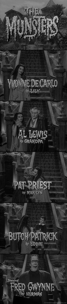 """""""The Munsters"""" Opening Credits"""