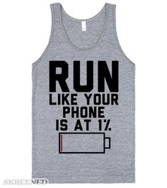 So maybe you need a little help with your workout motivation, let this shirt be that thing. This makes a great fitness shirt while you're at the gym. It's also the perfect gift for phone obsessed workout buddy. #Fitness
