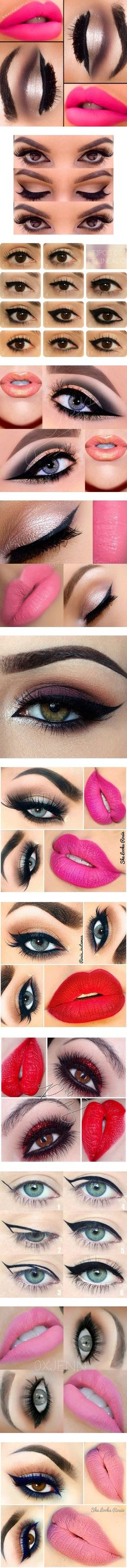 Eyes and Lips by lemonade0007 on Polyvore featuring beauty products, makeup, eyes, lips, beauty, lip makeup, lip gloss makeup, eye makeup, eyeliner and ardell cosmetics