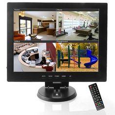 Sourcingbay 12inch TFT LCD Monitor Av/hdmi/bnc/vga Input