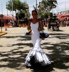 Vestido de flamenca M Cruz Palacios