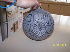 My Deathstar Christmas Decoration