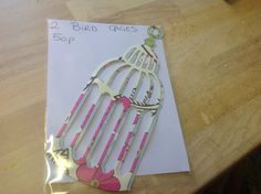 Large bird cage pack of 2 only 50p